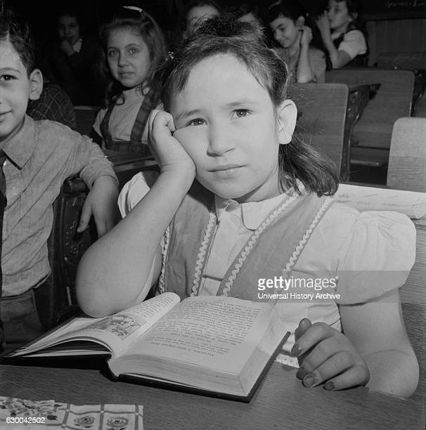 Student at Public School Eight New York City New York USA Marjorie Collins for Office of War Information January 1943