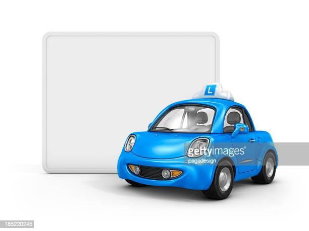 student driver car