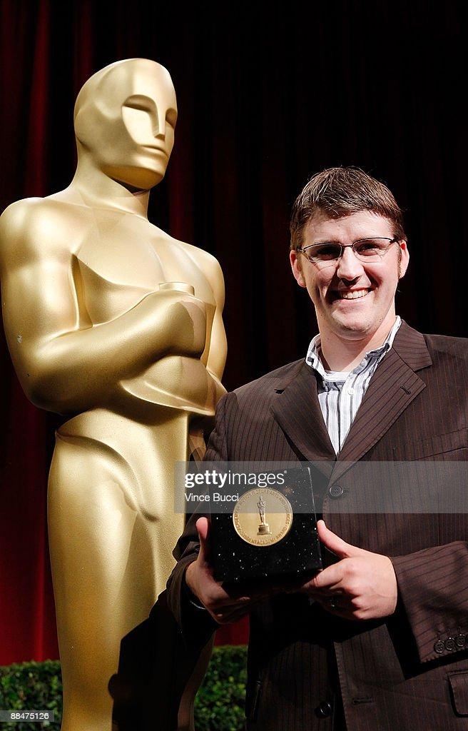 Student filmmaker Glenn Harmon from BYU poses prior to the 36th Annual Student Academy Awards at The Motion Picture Academy on June 13 2009 in Los...