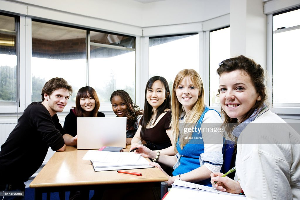 Student group : Stock Photo
