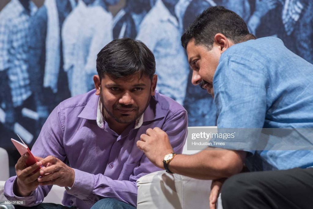 Student Leader Kanhaiya Kumar Attends An Inaugural Session Of Mumbai Collectives Event