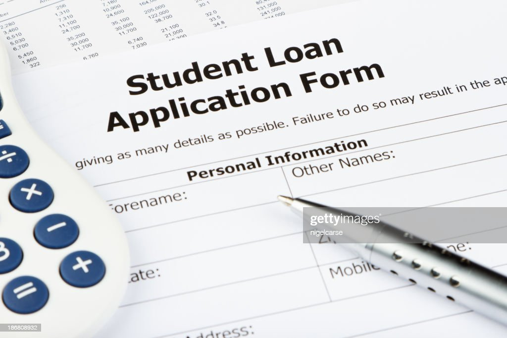 student loan application form uk