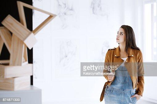 Student of art : Stock Photo