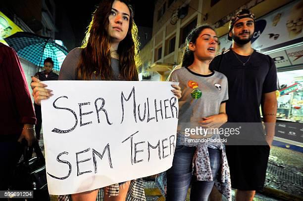 Student protest in Brazil