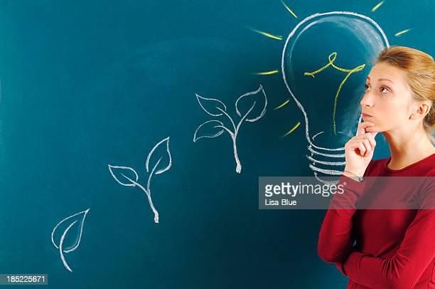 Student denken, Grüne Energie