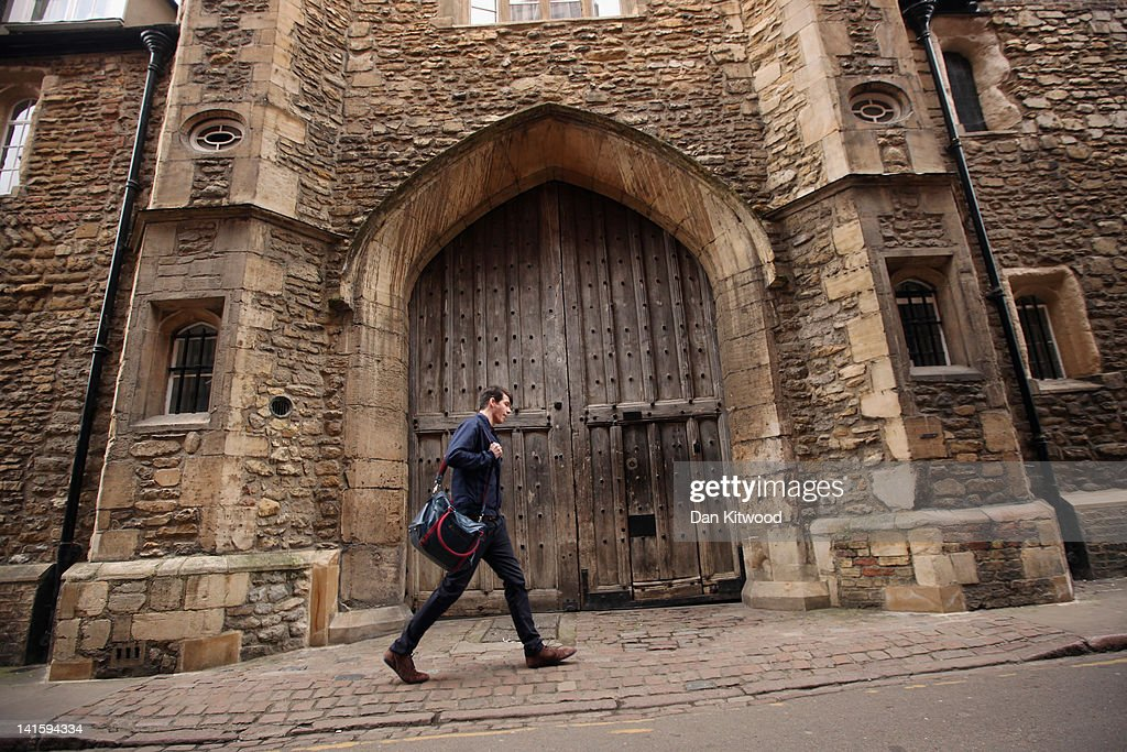 A student walks through the city centre on March 13, 2012 in Cambridge, England. Cambridge has a student population in excess of 22,000 spread over 31 different independent Colleges across the city. The city is home to several famous University's, including The University of Cambridge, which was founded in 1209, and is ranked one of the top five universities in the world, King's College Chapel, and Trinity College. Famous alumni have included the likes of Charles Darwin, Isaac Newton, Samuel Pepys and David Attenborough.