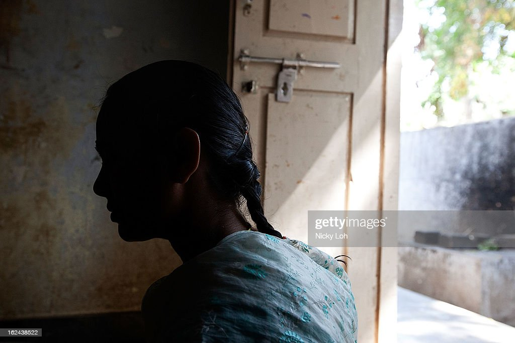 A student works inside the Aarti Home kitchen on February 23, 2013 in Kadapa, India. Female infanticide is still prevalent in rural areas of India. The abuse of the dowry tradition has been one of the main reasons for sex-selective abortions and female infanticides in India.