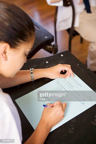 Student Writing Test