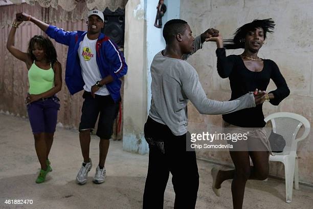 Students and instructors at the Casa de Tango dance with a mix of traditional and contemporary moves in the Habana Vieja neighborhood January 20 2015...