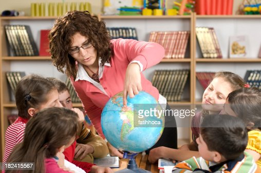Students and Teacher : Stock Photo