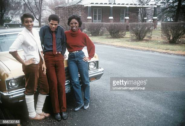 Students at Neptune High School New Jersey USA 1981