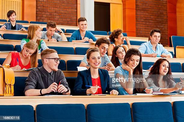 Studenti alla lezione