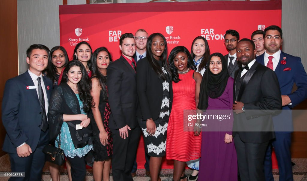 Students attend the 2017 Stars of Stony Brook Gala at Pier Sixty at Chelsea Piers on April 19, 2017 in New York City.