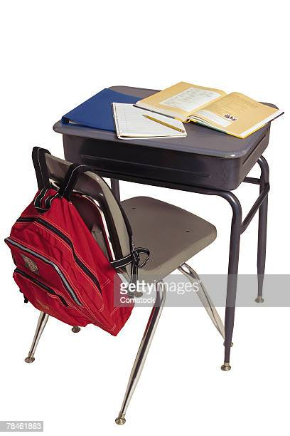 Student's desk and chair