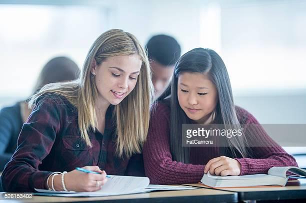 Students Doing a Homework Assignment
