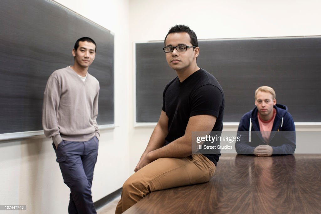 Students in classroom : Stock Photo