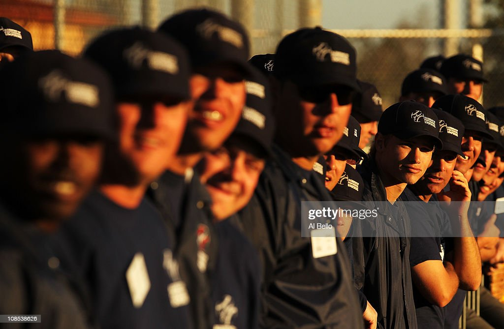 Students looks on during the Jim Evans Academy of Professional Umpiring on January 28, 2011 at the Houston Astros Spring Training Complex in Kissimmee, Florida. Jim Evans was a Major League Umpire for 28 years that included umpiring four World Series. Many of his students have gone on to work on all levels of baseball including the Major Leagues.