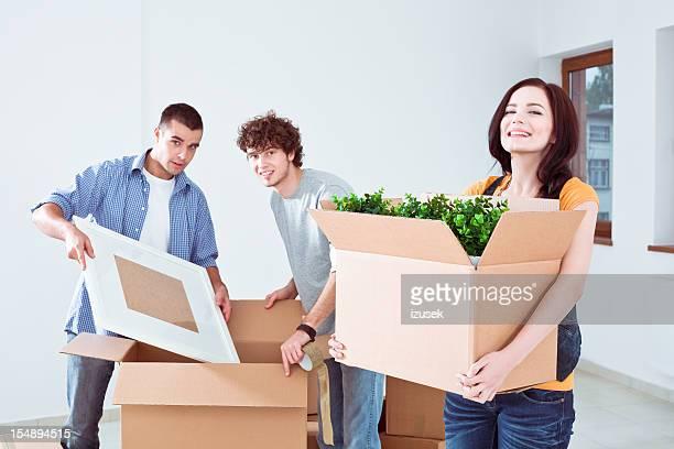 Studenten bewegen