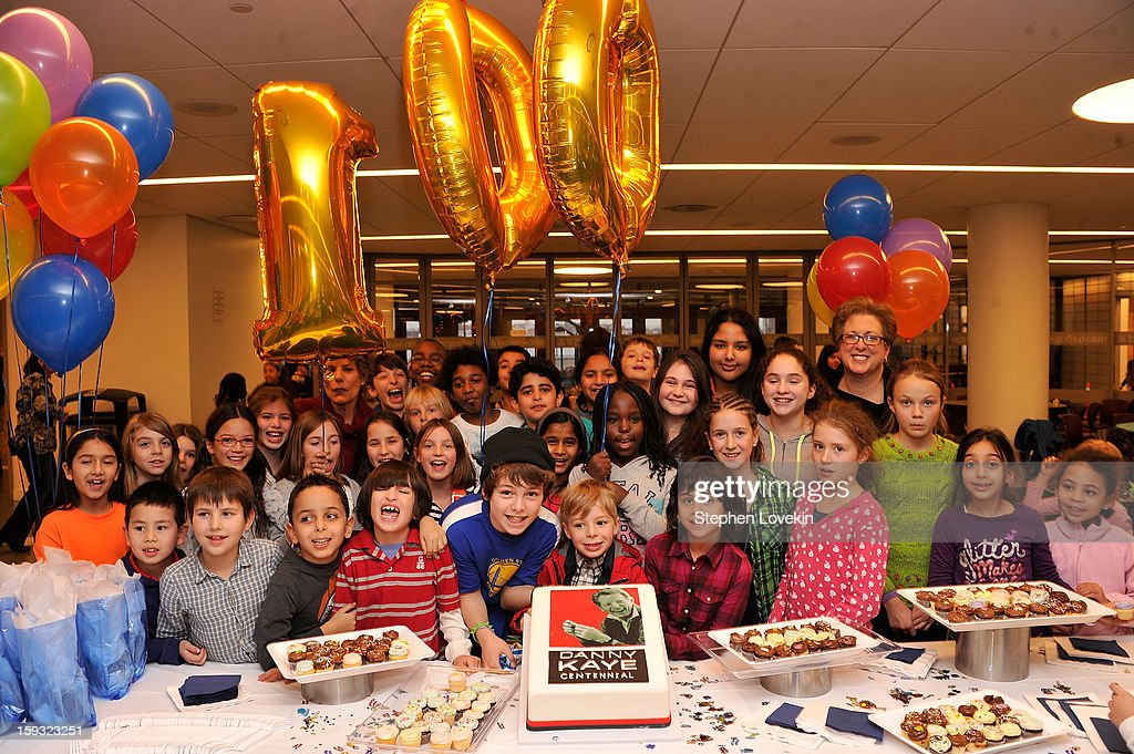 Students of the United Nations International School attend Danny Kaye Centennial Birthday Celebration at United Nations International School on January 11, 2013 in New York City.