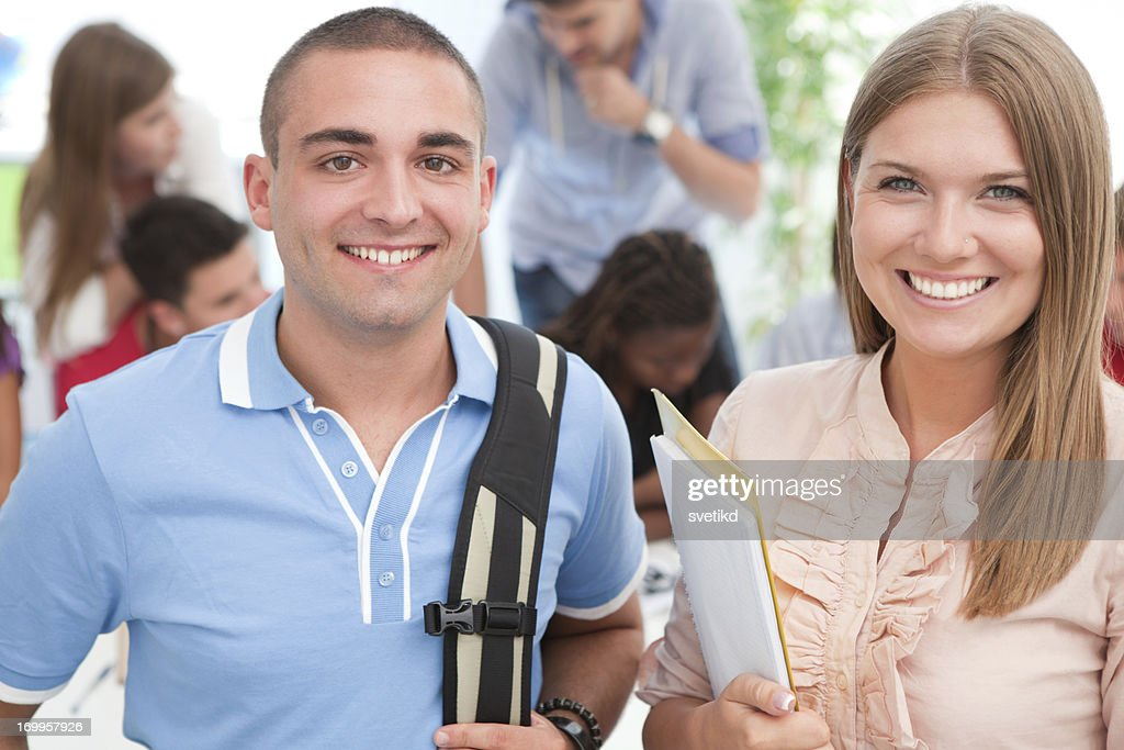 Students. : Stock Photo