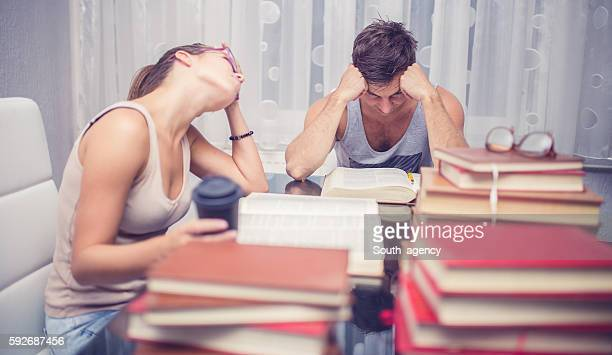 Students tired of studying