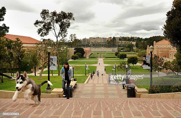 Students walk to class on the UCLA campus in Westwood Monday A report that was recently released suggests UC Schools become more autonomous and be...