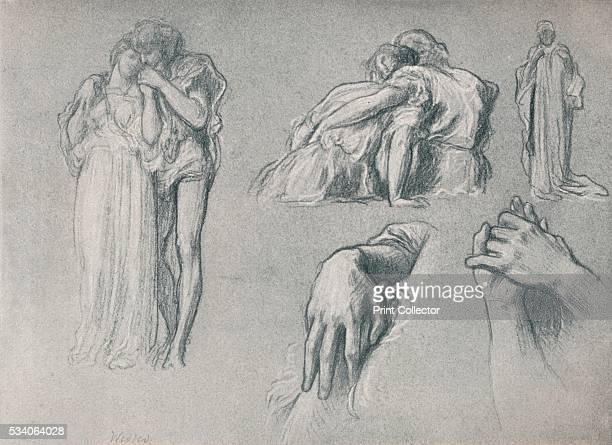 Studies for Wedded' from 'The Studio Volume 9' 1897