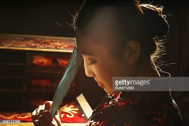 Studio Chinese girl