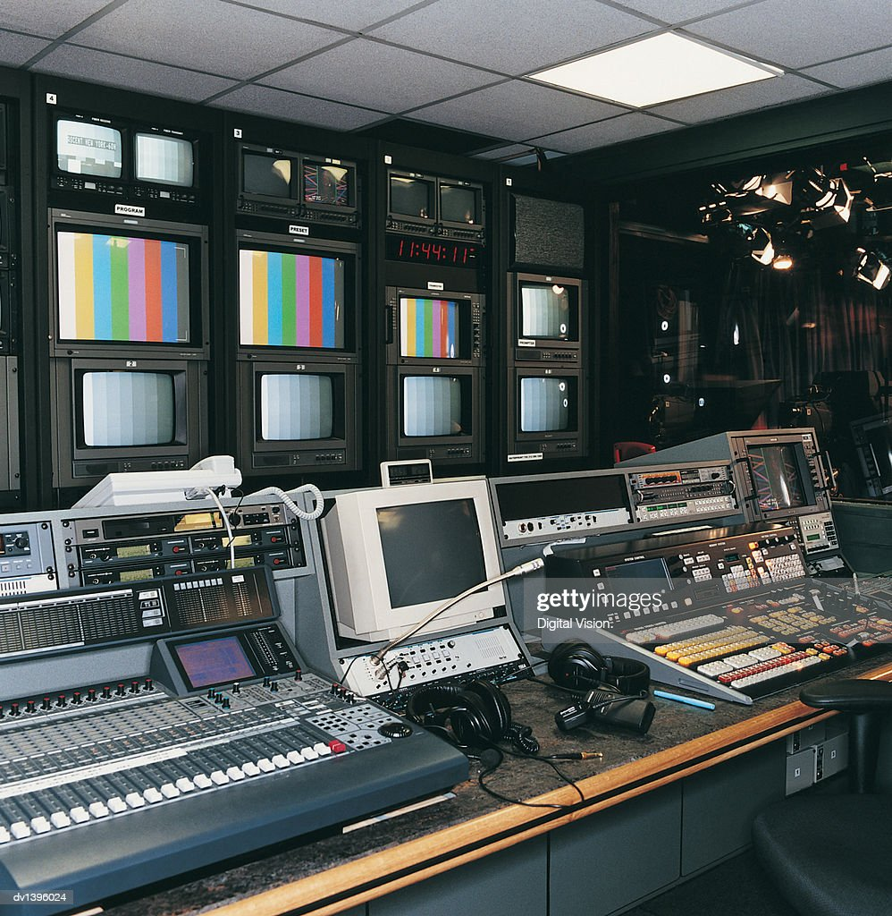 TV Studio Control Room