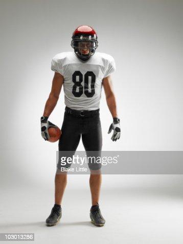 Studio football player