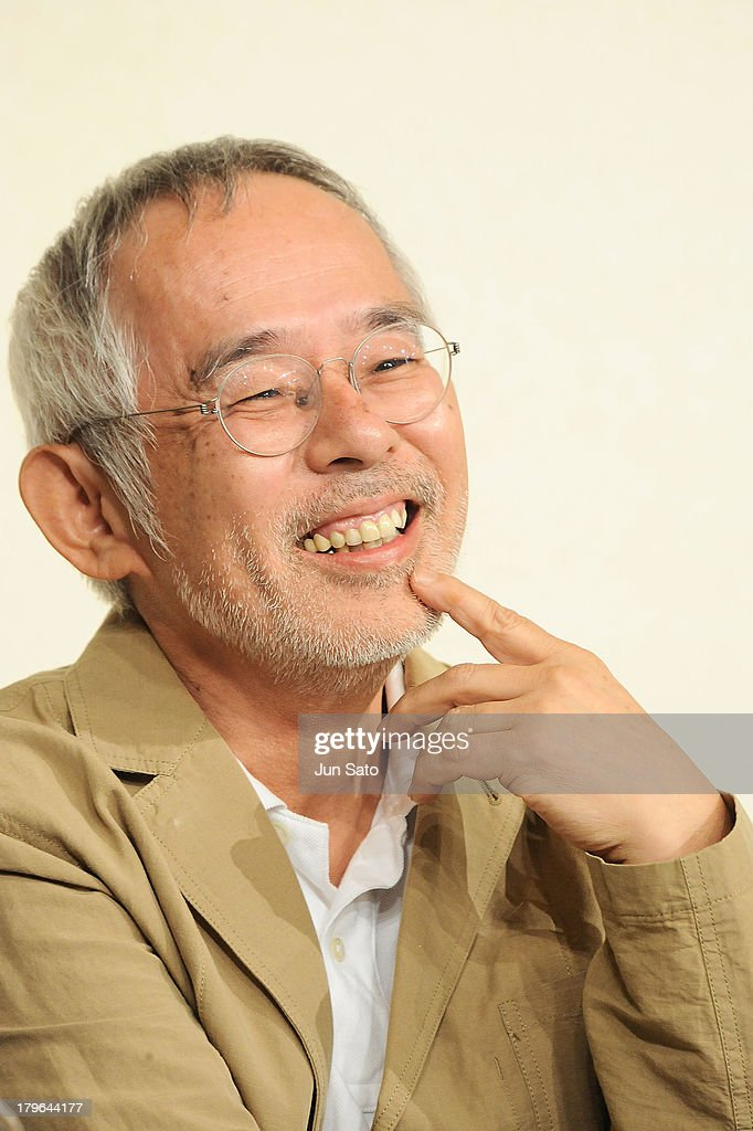 Studio Ghibli Producer <a gi-track='captionPersonalityLinkClicked' href=/galleries/search?phrase=Toshio+Suzuki+-+Film+Producer&family=editorial&specificpeople=2775575 ng-click='$event.stopPropagation()'>Toshio Suzuki</a> attends a press conference to announce the retirement of director/animotor Hayao Miyazaki on September 6, 2013 in Tokyo, Japan.