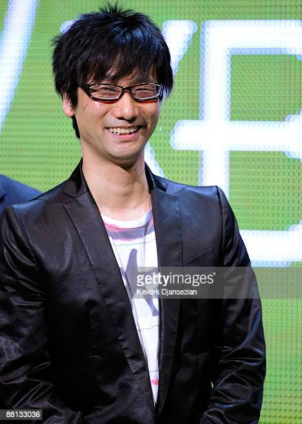 Studio Head of Kojima Productions and creator of 'Metal Gear Solid' Hideo Kojima appears on stage announcing the next chapter of the Metal Gear...