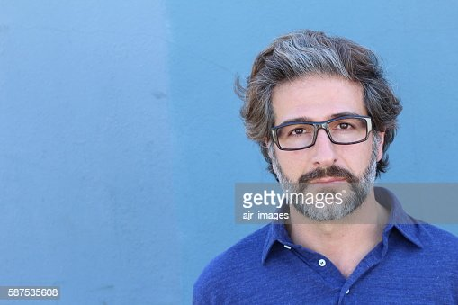 Studio portrait of a handsome business man : Stock Photo