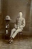 Studio portrait of a soldier of C Company 2nd Battalion the King's Regiment Iraq 1926