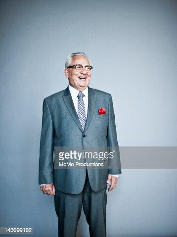 studio portrait of business man : Stock Photo