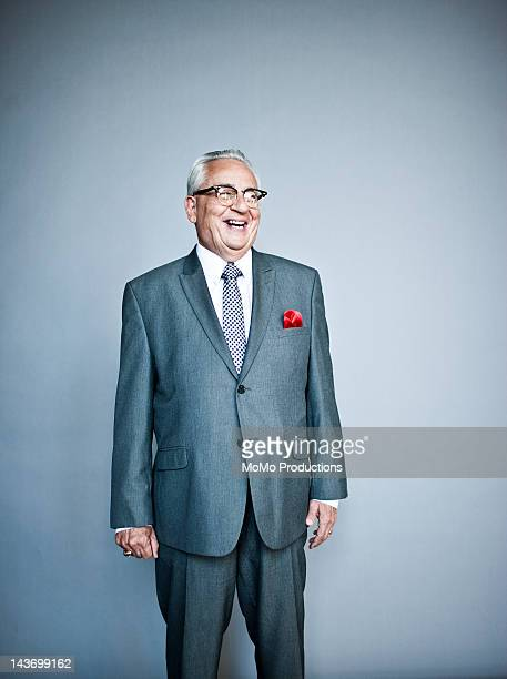 studio portrait of business man