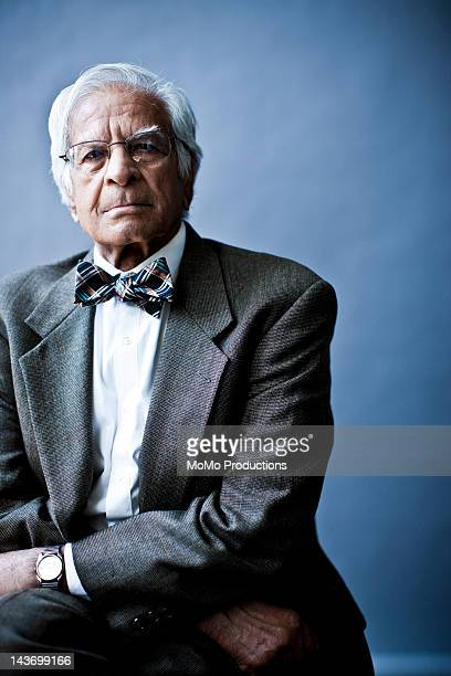 studio portrait of businessman
