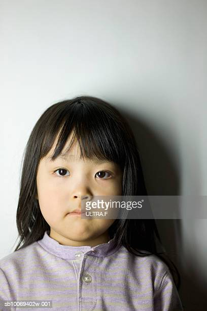 Studio portrait of girl (2-3)