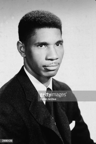 Studio portrait of slain American civil rights activist Medgar Evers early 1960s