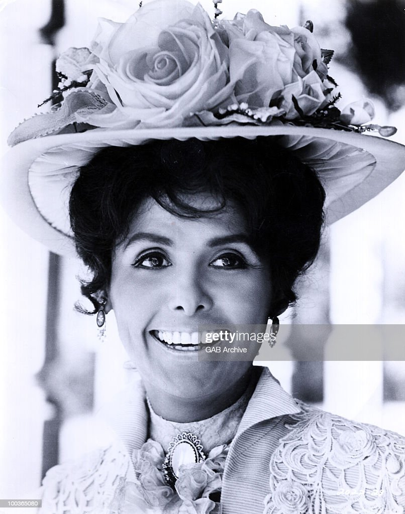 Studio portrait of the actress and singer Lena Horne taken on the set of the film 'Death Of A Gunfighter' in 1969