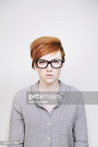studio portrait : Stock Photo