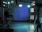TV studio set