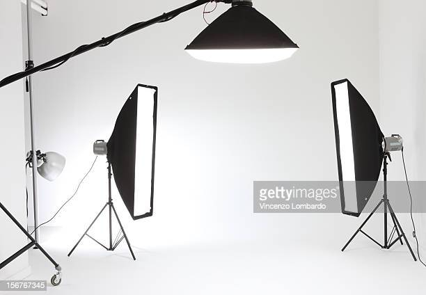 Studio shoot lighting