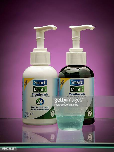 Studio shoot of SmartMouth mouthwashe for a Skeptic article The claims According to the packaging SmartMouth can 'eliminate and prevent bad breath –...