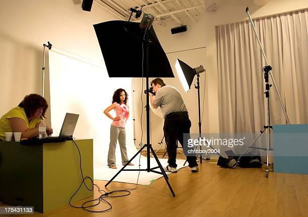 Studio-shooting