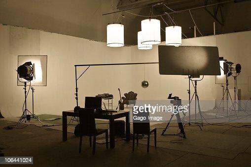Studio shooting set