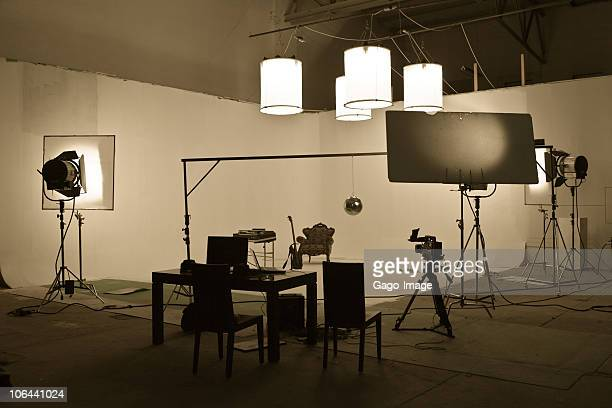 Studio shooting set