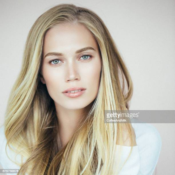 Studio shot of beautiful girl