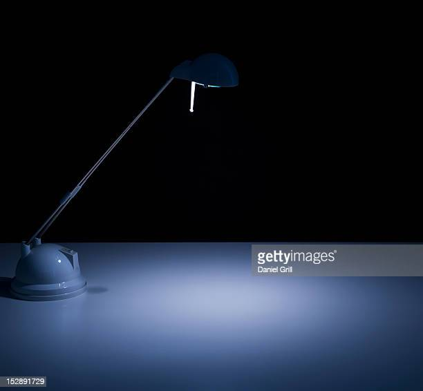 Studio shot of desk lamp