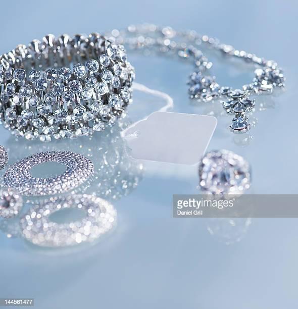 Studio shot of jewelry